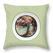 Spring Blossoms 2nd Version Throw Pillow