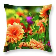 Spring Bouquet  Throw Pillow
