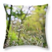 Spring Breeze 3 Throw Pillow