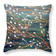 Spring Breeze Throw Pillow
