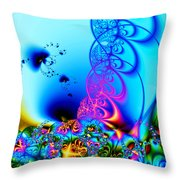 Spring Breezes Throw Pillow