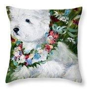 Spring Breezes Throw Pillow