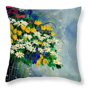 Spring Bunch  Throw Pillow