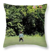 Spring By Heart Throw Pillow