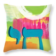 Spring Chai Throw Pillow