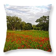 Spring Dreams Are Made Of These Throw Pillow