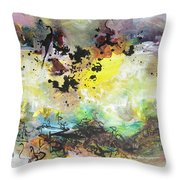 Spring Fever19 Throw Pillow
