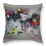 Spring Fever28 Throw Pillow