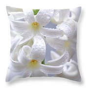 Spring Fiancee Throw Pillow