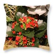 Spring Flowers No.17 Throw Pillow