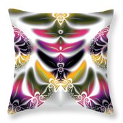 Spring Formal Throw Pillow