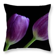 Spring Forward Throw Pillow by Tracy Hall