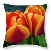 Spring Garden - Act One Throw Pillow