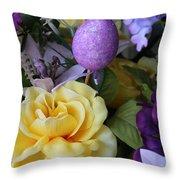 Spring Greetings Throw Pillow