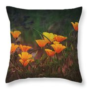 Spring In A Poppin' Throw Pillow