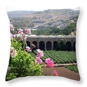 Spring In Bethlehem Throw Pillow