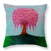 Spring In Bloom Throw Pillow