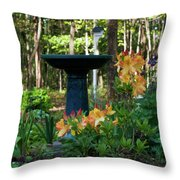 Spring In Blossom Throw Pillow