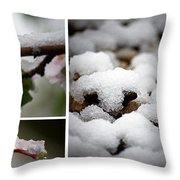Spring In Calgary Throw Pillow