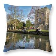 Spring In Canterbury Throw Pillow