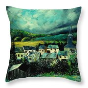 Spring In Daverdisse Throw Pillow