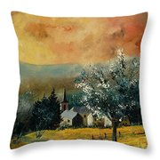 Spring In Gendon Throw Pillow