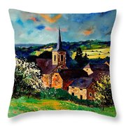 Spring In Gendron Throw Pillow