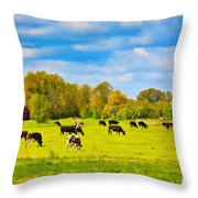 Spring In Holland-1 Throw Pillow