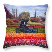 Spring In Holland3 Throw Pillow