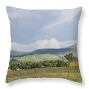 Spring In Livermore Throw Pillow