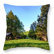 Spring In Mabry  Throw Pillow