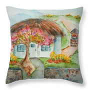 Spring In The Kingdom Throw Pillow