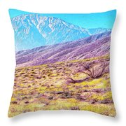 Spring In Whitewater Canyon Throw Pillow