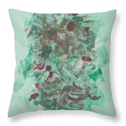 Spring Interlude Throw Pillow