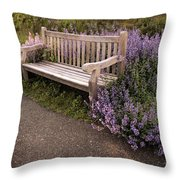 Spring Interlude Throw Pillow