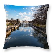 Spring Is At The Gates Throw Pillow