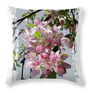Spring Is Melting Away Throw Pillow