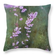 Spring Is Weeping Throw Pillow