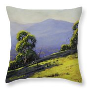 Spring Light Throw Pillow