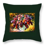 Spring Lilac Throw Pillow