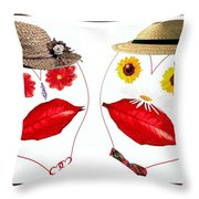 Spring Loaded 1 Throw Pillow