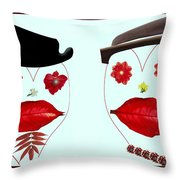 Spring Loaded 2 Throw Pillow