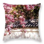 Spring - Magnolia Throw Pillow