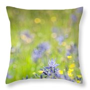 Spring Meadow 3 Throw Pillow
