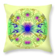 Spring Meditation Throw Pillow