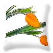 Spring Messenger Throw Pillow