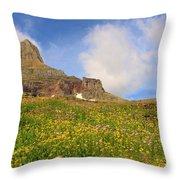 Spring Mountain Throw Pillow