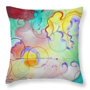 Spring Of Hope Throw Pillow