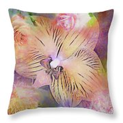 Spring Offerings Throw Pillow
