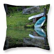 Spring On The Lake Throw Pillow